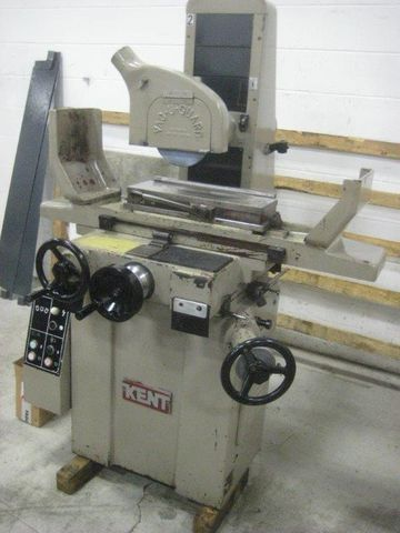"Kent Manual Surface Grinder 6"" X 18"" magnetic chuck"