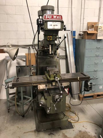 Topwell 3vk Turret Milling Machine